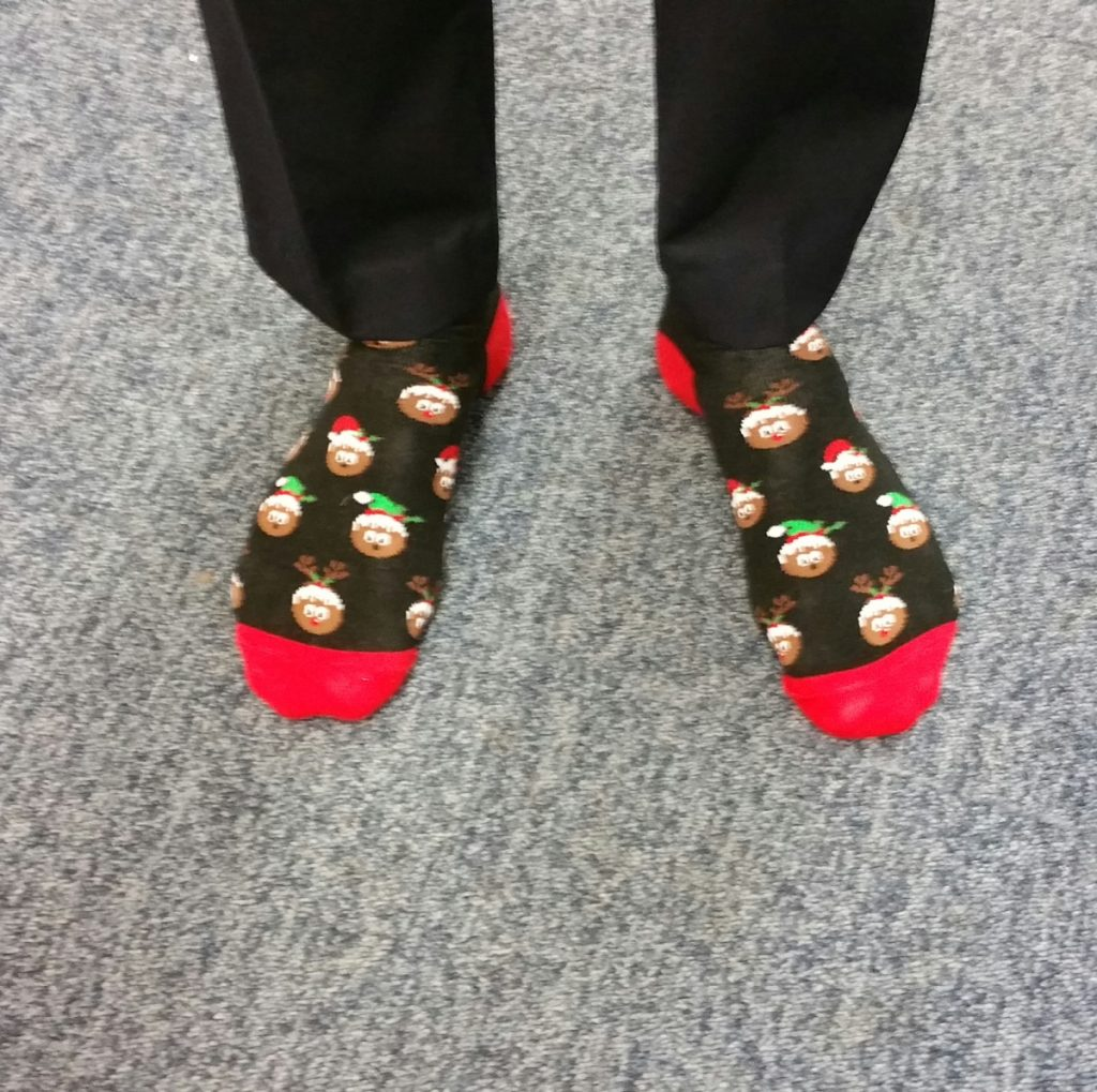 Autism West Midlands Festive Sock Day