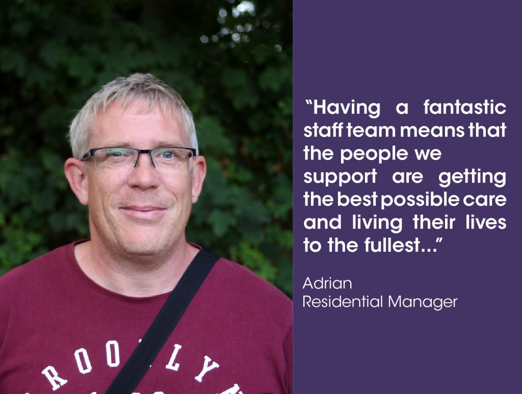 Residential Care Manager Adrian