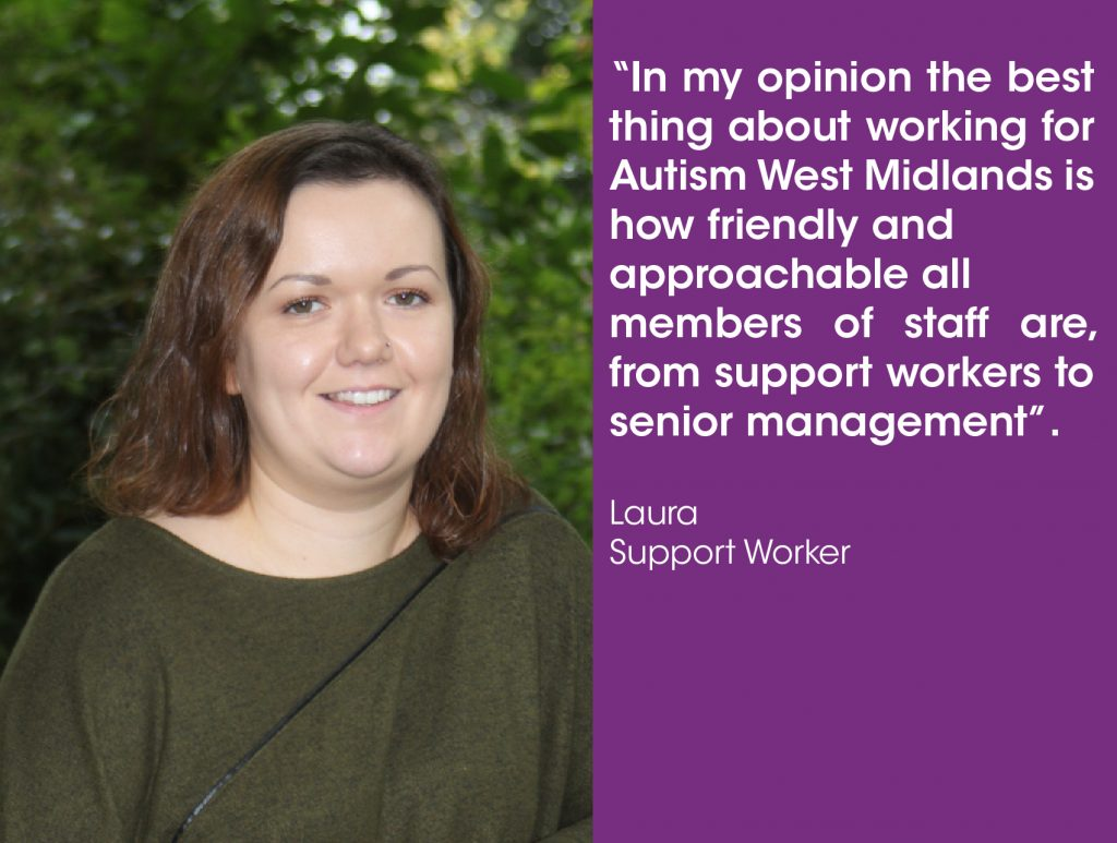 Working for Autism West Midlands